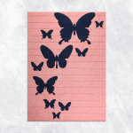 Tapis Tuft Butterfly